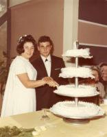 Gianni e Patrizia - il taglio della torta