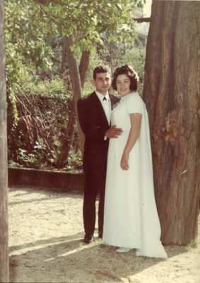 Gianni e Patrizia sposi - 1 aprile 1969